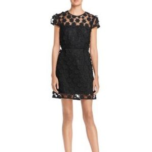 Milly Angie Floral Applique Dress